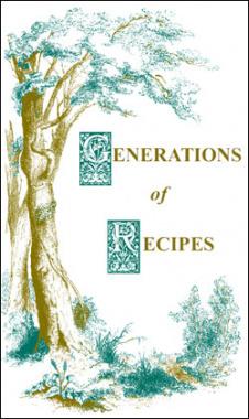 Ebook cover: Generations of Recipes