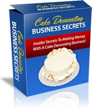 Ebook cover: Cake Decorating Business