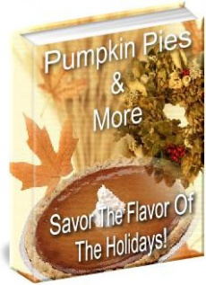 Ebook cover: Pumpkin Pies And More!