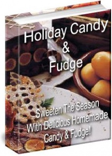 Ebook cover: Holiday Candy & Fudge