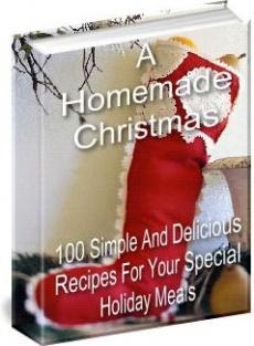 Ebook cover: A Home Made Christmas