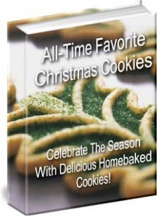Ebook cover: All-Time Favorite Christmas Cookies