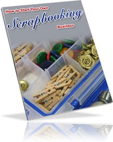 Ebook cover: Start Your Own Scrapbooking Business