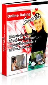 Ebook cover: Online Dating Secrets