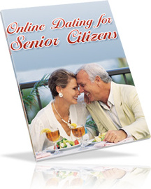 Ebook cover: Online Dating for Senior Citizens