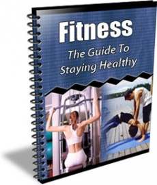 Ebook cover: Fitness: The Guide To Staying Healthy