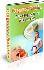 Ebook cover: Pregnancy Nutrition