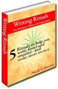 Ebook cover: Writing Rituals