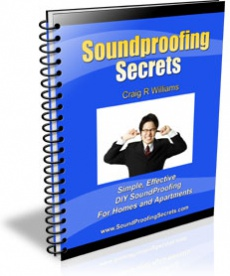 Ebook cover: Sound Proofing Secrets