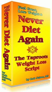 Ebook cover: Never Diet Again