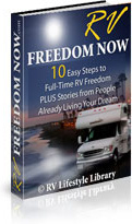 Ebook cover: RV Freedom Now