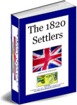 Ebook cover: The 1820 Settlers