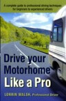 Ebook cover: Drive Your Motorhome Like a Pro