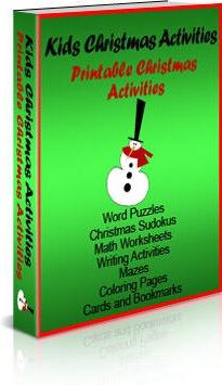 Ebook cover: Kids Christmas Activities