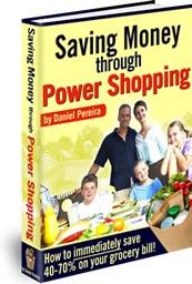 Ebook cover: Saving Money through Power Shopping