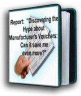 Ebook cover: Discovering the Hype About Manufacturer's Vouchers