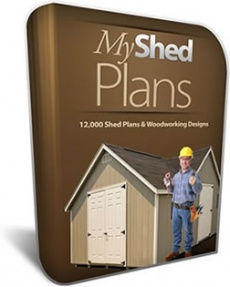 Ebook cover: My Shed Plans