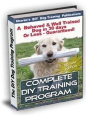 Ebook cover: DIY Dog Training