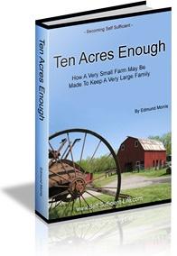 Ebook cover: Ten Acres Enough