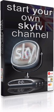 Ebook cover: Start Your Own Skytv Channel