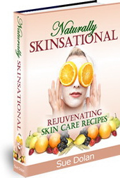 Ebook cover: Natural Skinsational