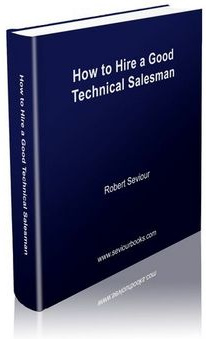 Ebook cover: How to Hire a Good Technical Salesperson