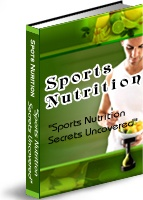 Ebook cover: Sports Nutrition Secrets Uncovered
