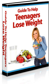 Ebook cover: The Total Guide To Teen Weight Loss