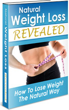 Ebook cover: Natural Weight Loss REVEALED