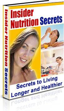 Ebook cover: Insider Nutrition Secrets