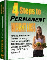Ebook cover: 4 Steps To Permanent Weight Loss