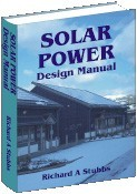 Ebook cover: Solar Power Design Manual
