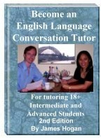 Ebook cover: Become an English Language Conversation Tutor