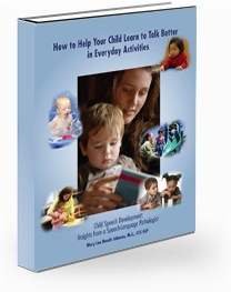 Ebook cover: How to Help Your Child Learn to Talk Better in Everyday Activities