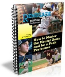 Ebook cover: Renegade Mindset Techniques for Baseball