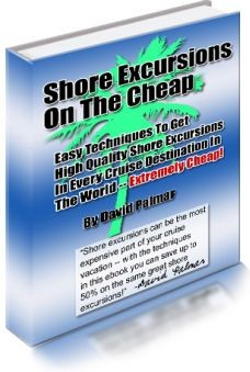 Ebook cover: Shore Excursions on the Chep