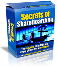 Ebook cover: Secrets of Skateboarding