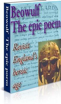 Ebook cover: Beowulf Epic Poem
