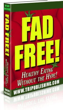 Ebook cover: Fad Free!