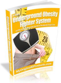 Ebook cover: Underground Obesity Fighter System