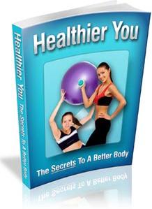 Ebook cover: Healthier You