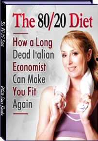 Ebook cover: The 80-20 Diet