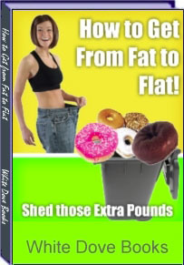Ebook cover: How to Get from Fat to Flat!