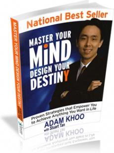 Ebook cover: Master Your Mind Design Your Destiny