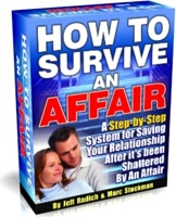 Ebook cover: How to Survive an Affair