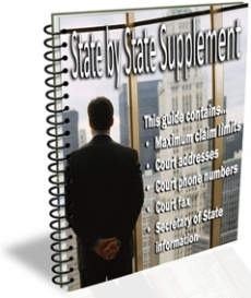 Ebook cover: State by State Supplement