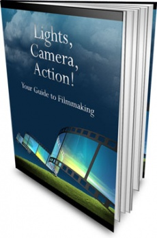 Ebook cover: Lights, Camera, Action!