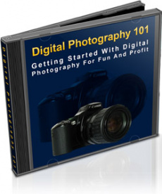 Ebook cover: Digital Photography 101