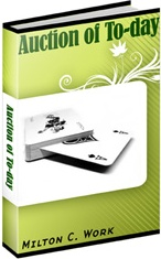 Ebook cover: Auction of To-day