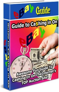 Ebook cover: Guide to Cashing in on eBay
